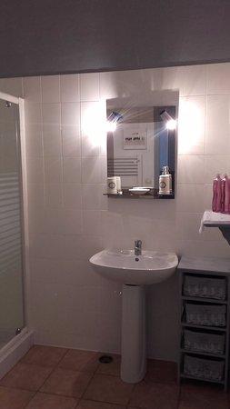 Sainte-Soline, France: Bergerie en suite shower room