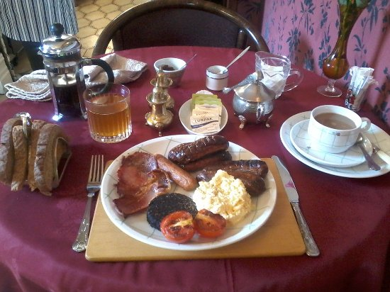 Creston Villa Guest House: Breakfast at Creston Villa