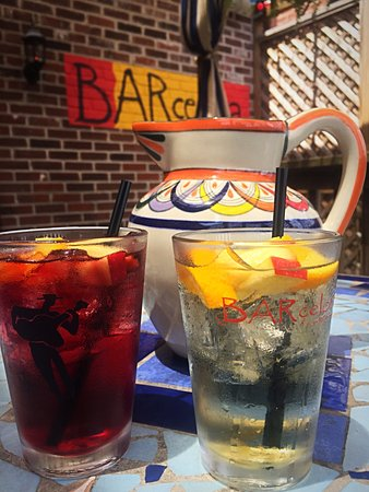 Clayton, MO: Our famous Sangria! Salud!