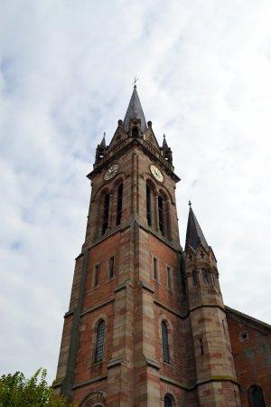 Dambach-la-Ville, France: Eglise Saint Etienne