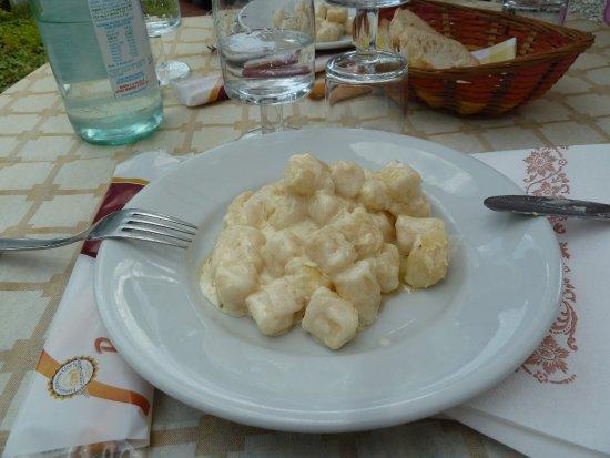 Valmala, Italy: Gnocci pomodore