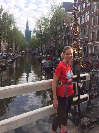 Tourist Run Amsterdam: One more photo op.