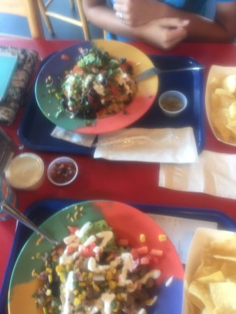 Blue Coast Burrito: Cabo Bowl - More than you see in the pic!