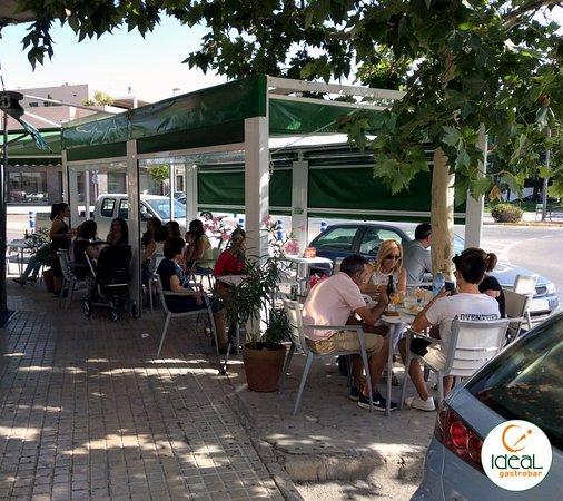 Yecla, España: Nuestra terraza