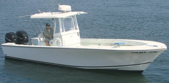 Narragansett, RI: 32 SeaCraft, Twin 300 HP Mercury Verado's. 35 knot cruising speed to maximize the fishing excurs