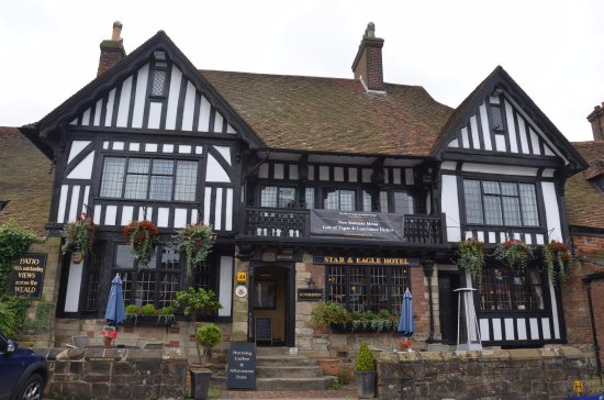 The Star & Eagle, Bar and Hotel, Goudhurst