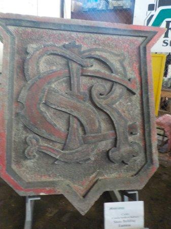 Saint Thomas, Canadá: Canada Southern Railway sign.