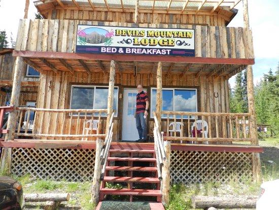 Gakona, AK: Haupthaus der Lodge