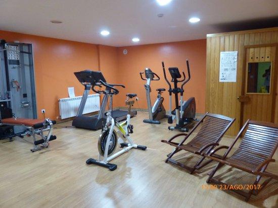 Tama, Espanha: gimnasio y sauna.