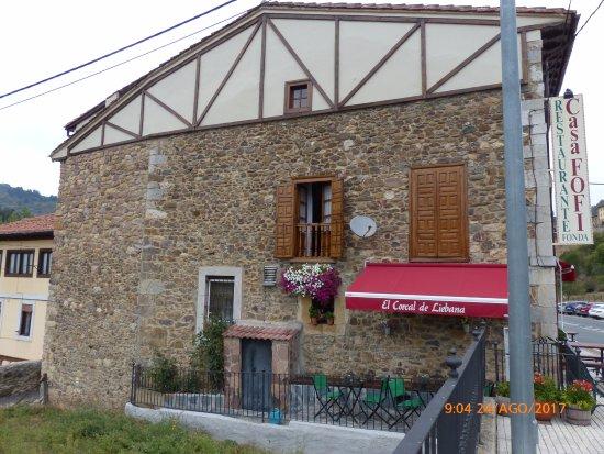 Tama, Espanha: Restaurante Fofi, de la familia.