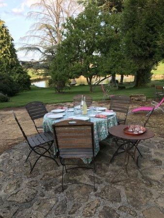 Royeres, Prancis: La terrasse
