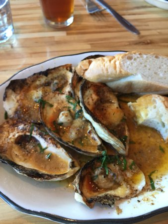 Hot Suppa: The grilled oysters.