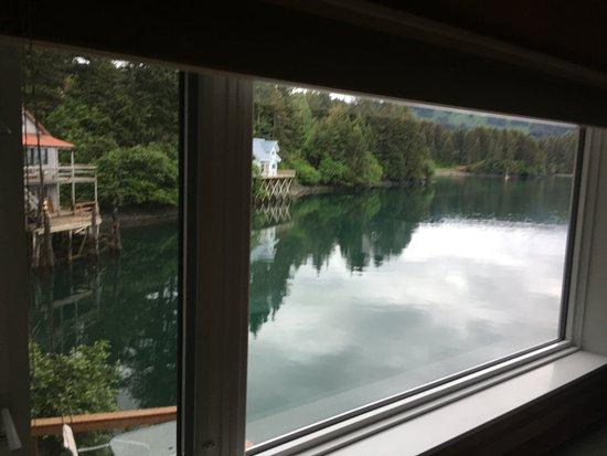 Seldovia, Αλάσκα: View from the loft bedroom.