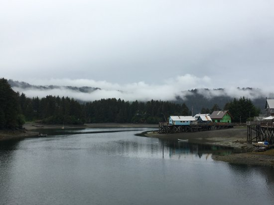 Seldovia, AK: View to the left of the slough....