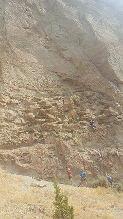 Terrebonne, Орегон: Top-rope climbing at Smith Rock