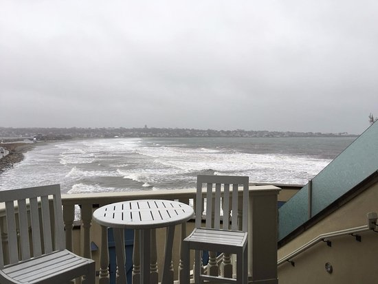 The Chanler at Cliff Walk: View from our room