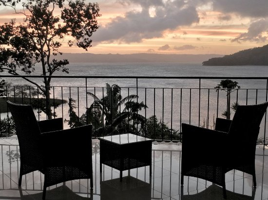 Nuevo Arenal, Costa Rica: Terrace from the Studios Suites