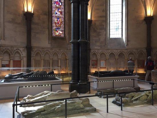 Temple Church: tombe dei cavalieri templari