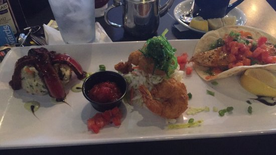 Bild von fish tale grill by merrick seafood for Fish tales cape coral