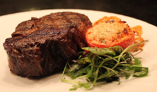 New Buffalo, MI: Filet from Copper Rock Steakhouse