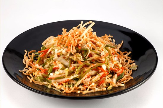 New Buffalo, MI: Asian Chicken Salad at Timbers
