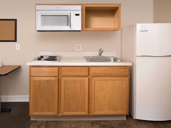 Simpsonville, Южная Каролина: In-Room Kitchen