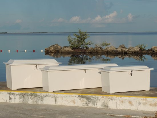 Factory direct dock boxes  - Picture of Tiki Water Sports, Tavernier