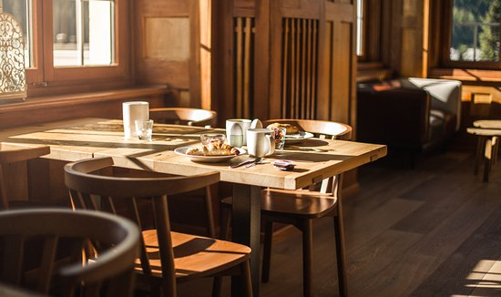 Hotel Davos Inn: Frühstück im Das Inn