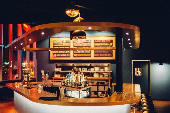 Trumansburg, Нью-Йорк: Bar Area