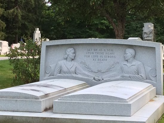 Barre, VT: One of the memorials created from rock of ages
