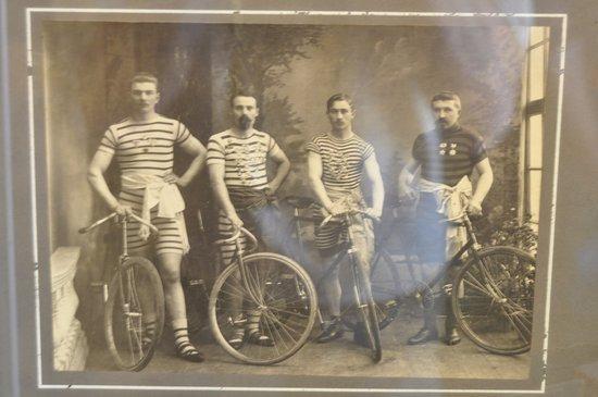Saulkrasti Bicycle Museum: Экспозиция