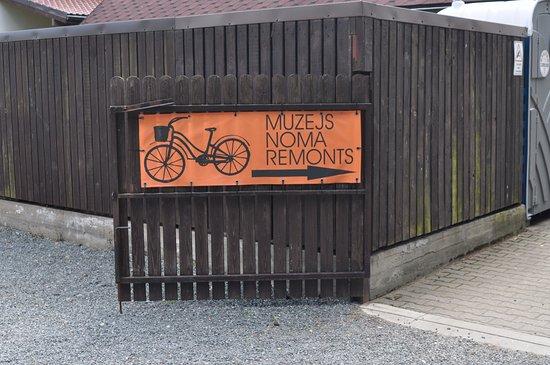 Saulkrasti, Letonia: Вход в музей
