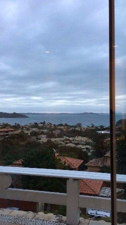 Posada Villa Mercedes: Vista do quarto - Praia dos Ossos