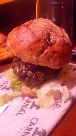 Steakhouse Carnal : hamburguesa