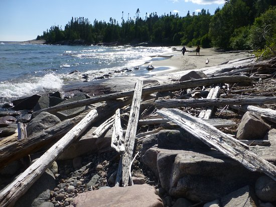 Whitefish, Canada: So many spectactular beaches.