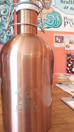 Poseidon's Pantry Gourmet Grocery & Deli: We sell growlers of craft beer to go! BYOG (bring your own growler)