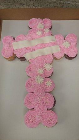 New Hartford, NY: Cupcake Pull-apart for a baptism