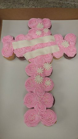 New Hartford, Нью-Йорк: Cupcake Pull-apart for a baptism