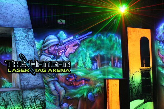 The Hangar Laser Tag Arena