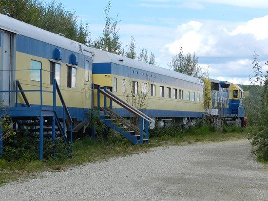 The Aurora Express: Alter Alska Zug als Zimmer