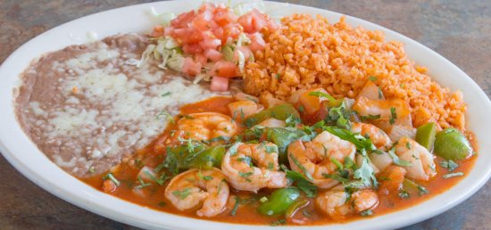 Martinez, Californien: Shrimp Ranchero