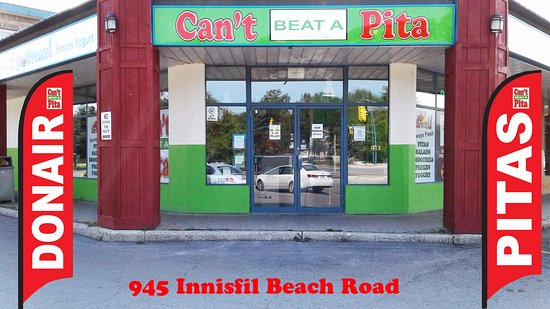 We are Pita and Frozen Yogurt Restaurant in Innisfil, ON Quality meats 705-999-3298