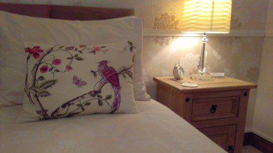 Blythburgh, UK: King sized Bed