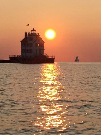 Lorain, OH: Our sunset cruise!
