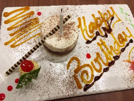 Inverurie, UK: The staff created this small but beautifully made plate when I told them, on my arrival, it was