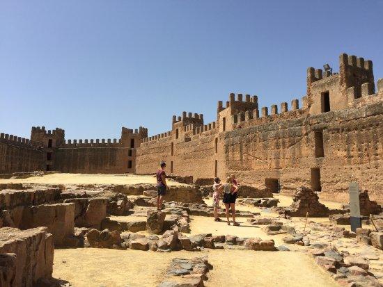 Banos de la Encina, Spanien: Con la guía