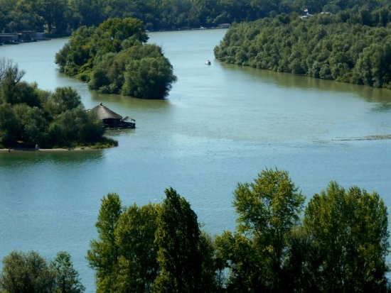 Danube River: Where the rivers meet