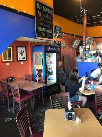 Cafe Rumba: seating