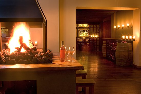 Vivace: Our fireplace is the perfect spot to enjoy a wine and tapas