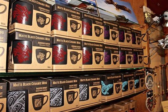 Sandspit, Canada : Mugs with Haida designs on sale